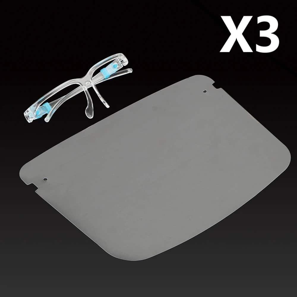 Face Shield Visor Pack Of 3